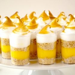 #133705 - Lemon Meringue Pie Shooters By TasteSpotting