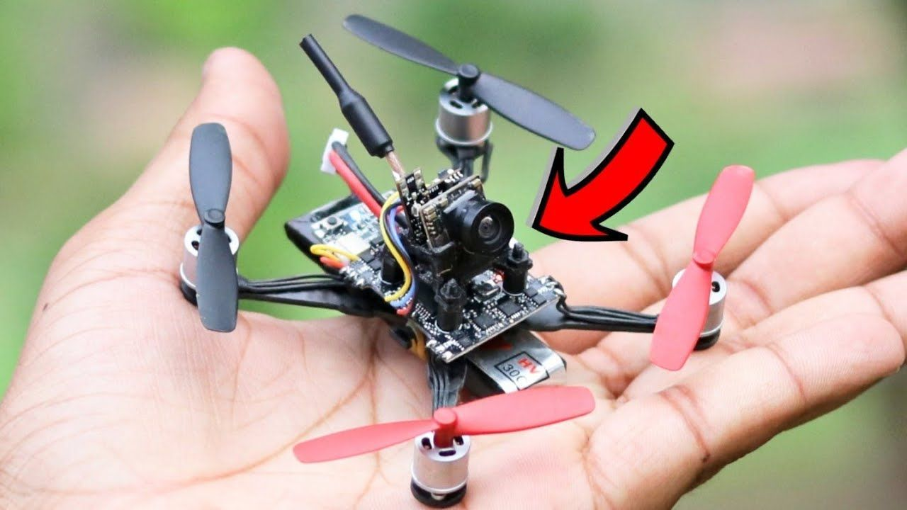 how to make a drone with camera
