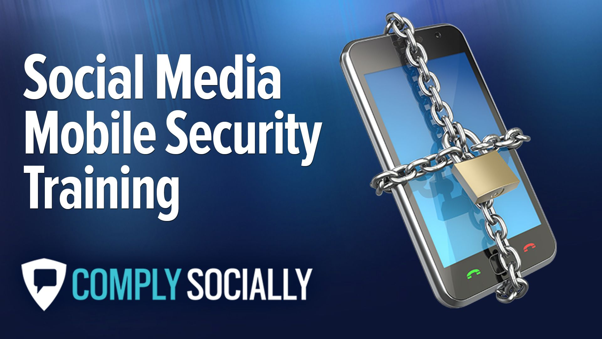 http://complysocially.com/online-social-media-policy-training/social-media-mobile-security/  Learn how to use social media smartphone without forfeiting valuable personal or business information in this self-paced, online course that you can take right now.