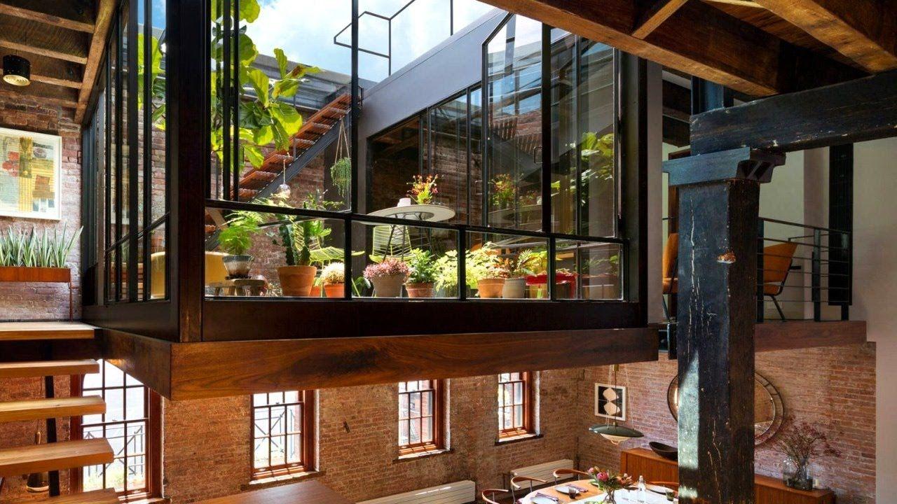 28 incredible lofts new york loft apartment design small home design pinterest moderno. Black Bedroom Furniture Sets. Home Design Ideas