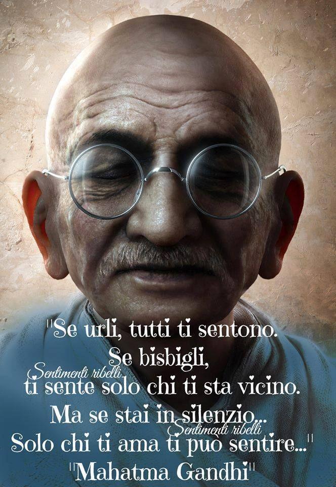 Citaten Gandhi : Hanno detto frasi e citazioni celebri saggezza