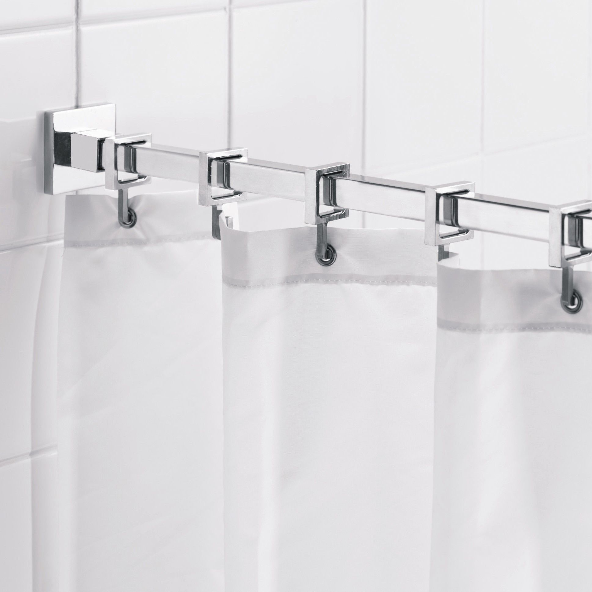 Features Chrome Plated Brass And Aluminum Wall Brackets Bright