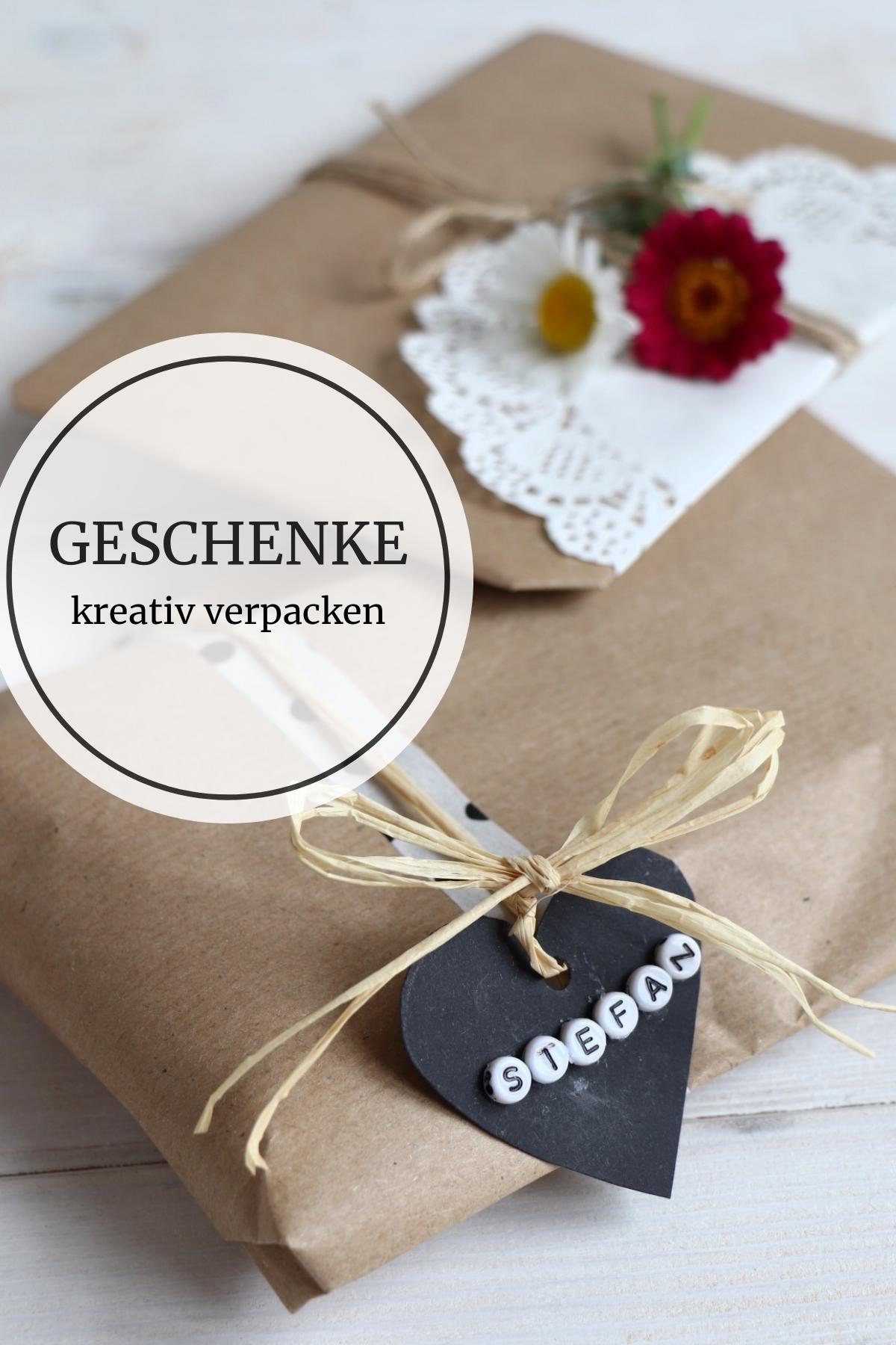 25++ Geschenke kreativ verpacken geburtstag 2021 ideen
