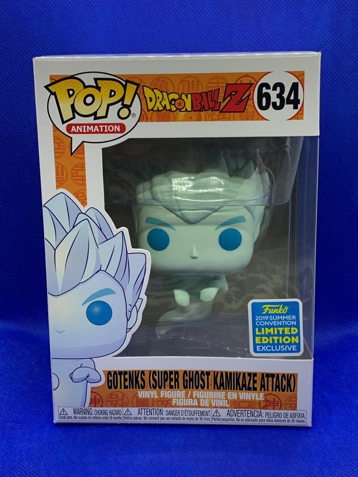 2019 Summer Convention Exclusive Gotenks Super Ghost Kamikaze Attack Pop Buy With The Confidence That Your Item Will Arrive Saf Vinyl Figures Kamikaze Ghost