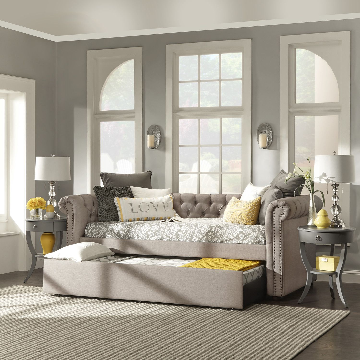 Sofa Daybed For Bonus Room House Of Hampton Carthusia With Trundle Wayfair Living