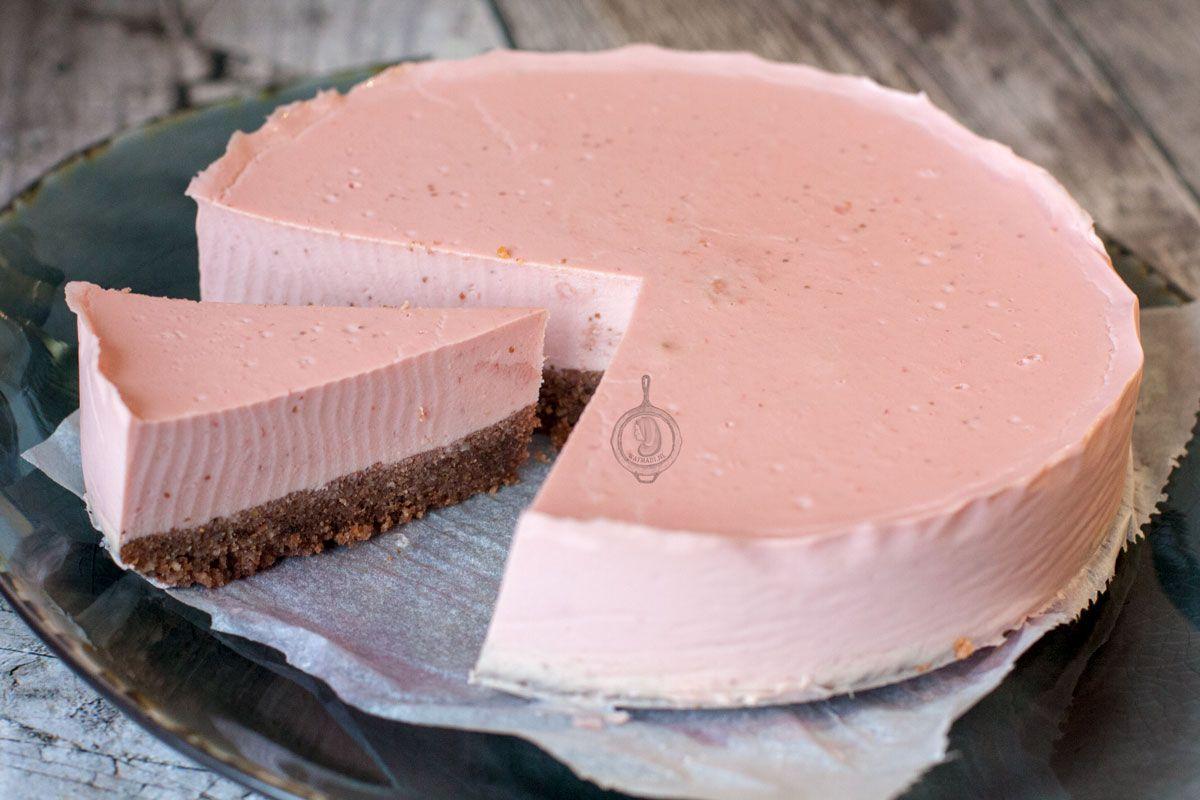 Koolhydraatarme Aardbei Cheesecake - WayMadi