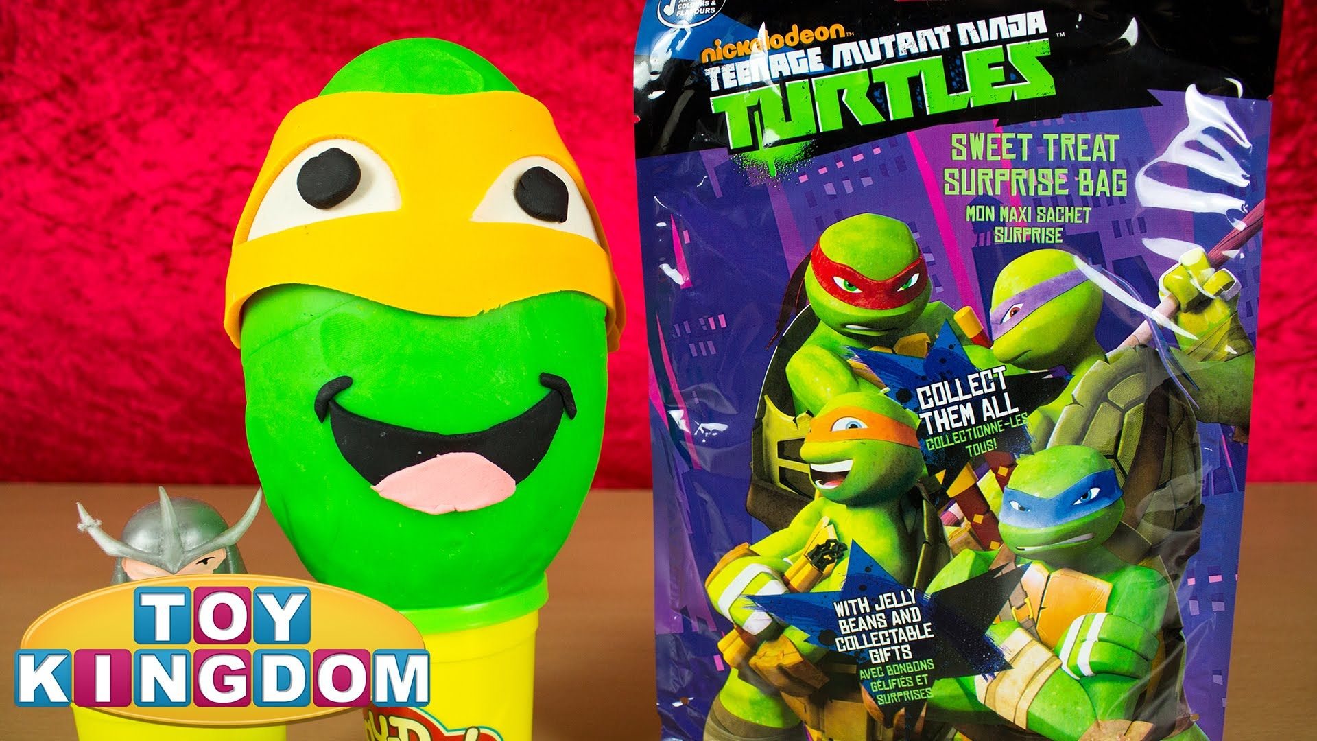 Teenage Mutant Ninja Turtles Surprise Bag TMNT Play Doh Surprise