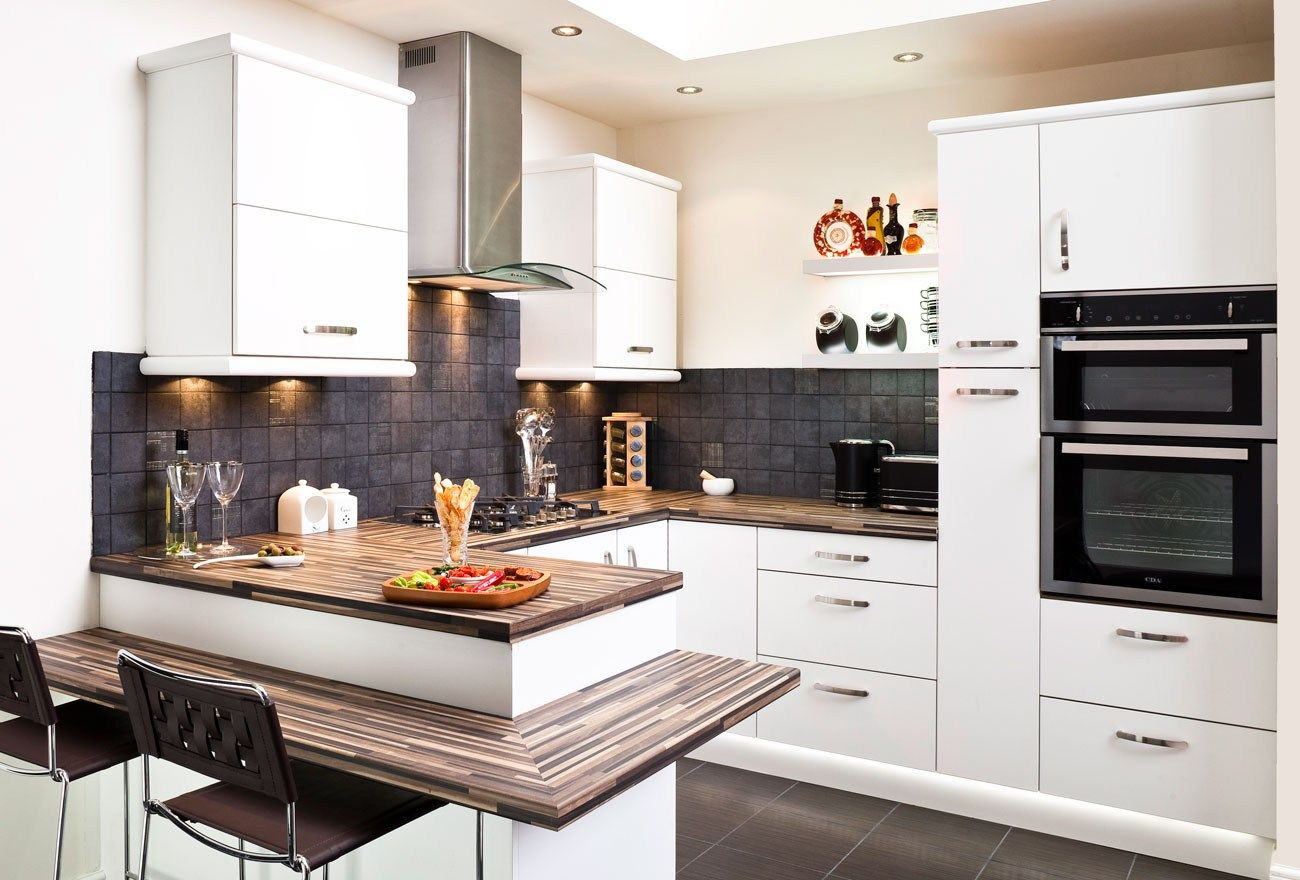 Exceptionnel World Trend House Design Ideas Likewise Small Fitted Kitchen Designs