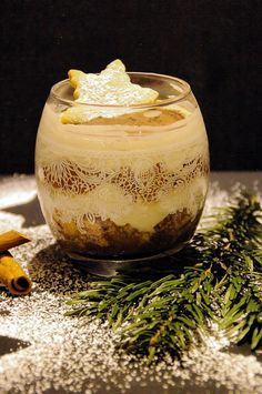 Photo of Recipe: The dessert for the Christmas table once apple cinnamon cream