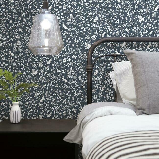 Fox Hare Premium Peel And Stick Wallpaper Magnolia Homes Peel And Stick Wallpaper Wall Coverings