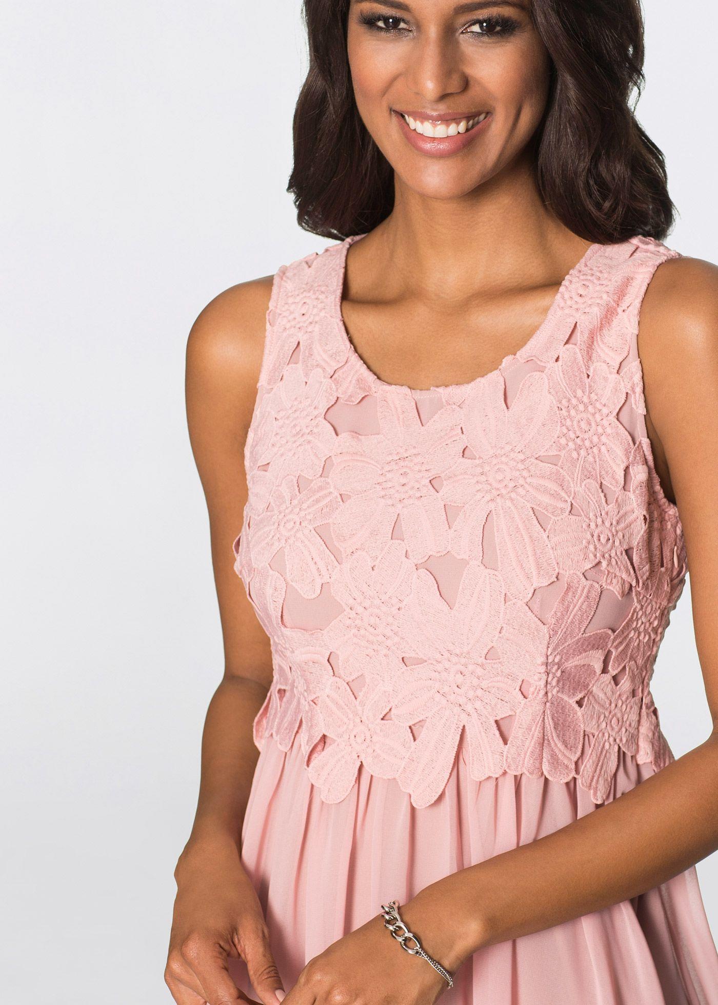 Kleid rosa jetzt im Online Shop von bonprix.de ab € 37,99 ...