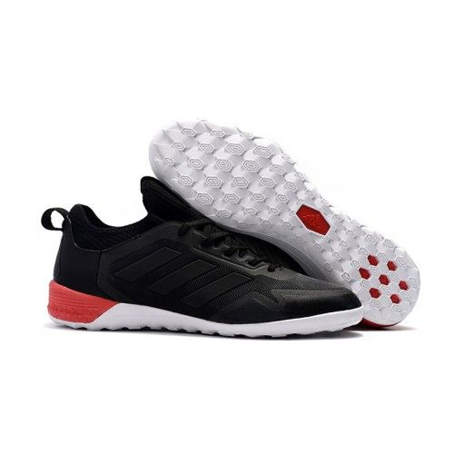 new product 36291 342aa Adidas ACE Tango 17+ Purecontrol IC Fußballschuhe Schwarz Weiß Rot