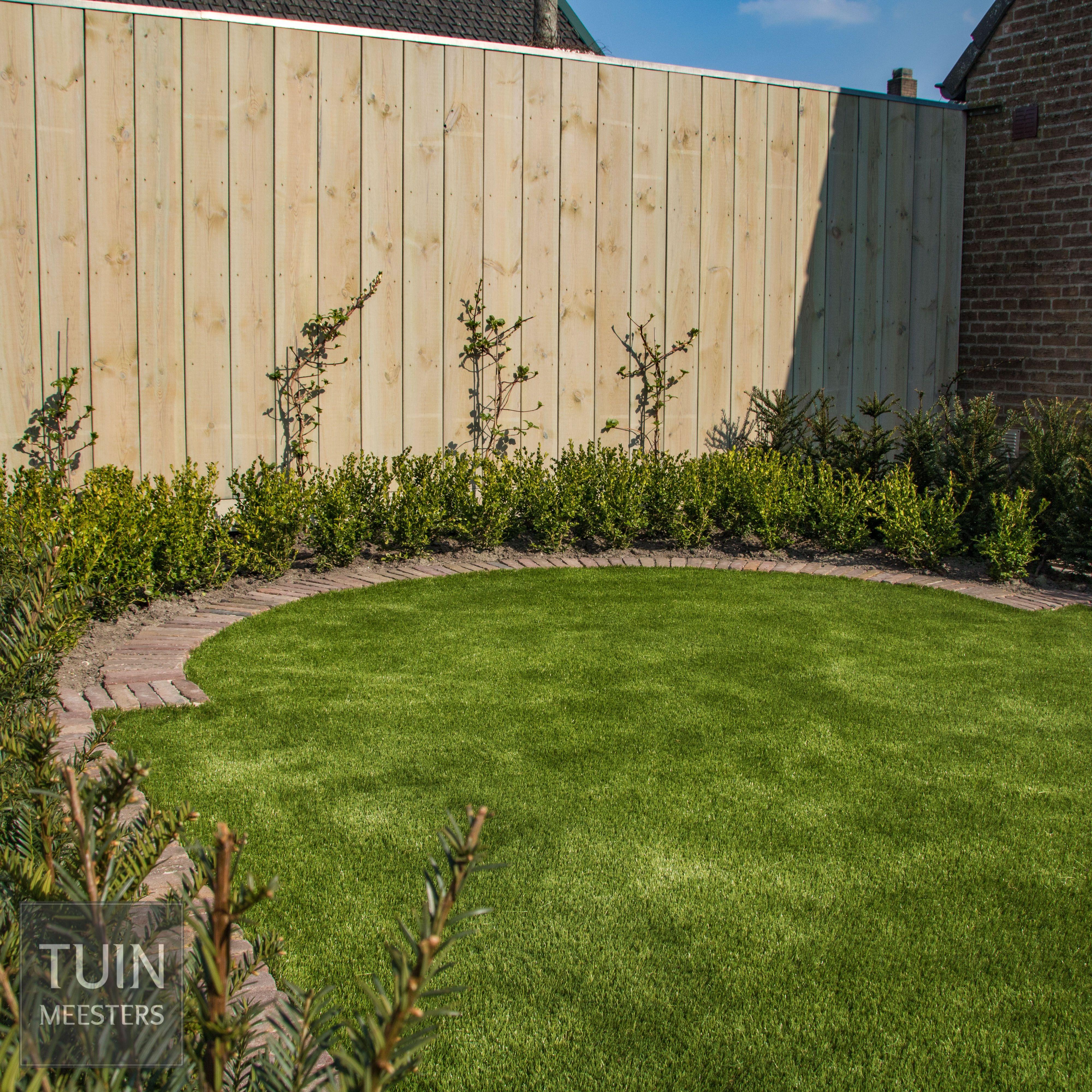 Kunstgras GSB Premium Plus-tuinrenovatie Wouw ©Tuinmeesters