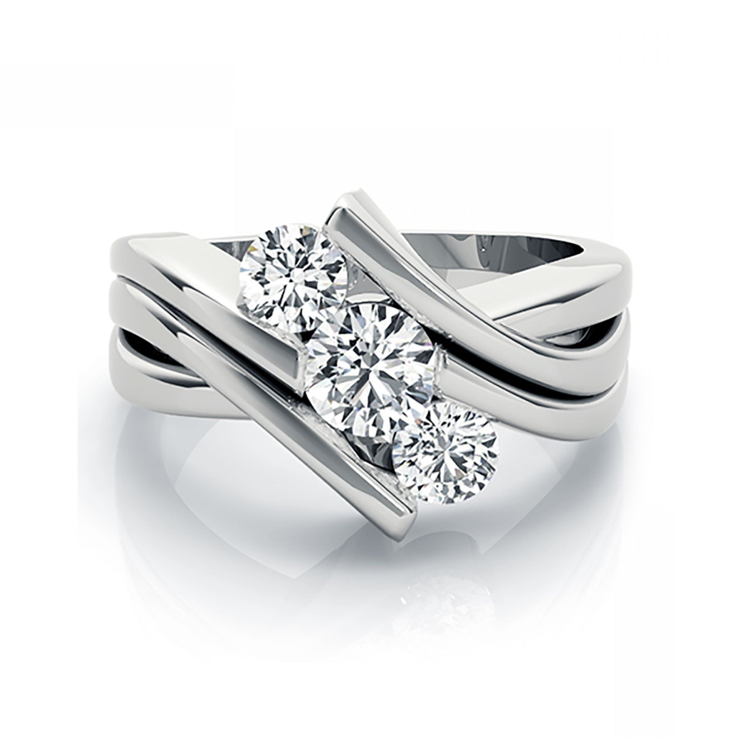 in ring ringtwisted my settings diamond prong life your engagement jewellery rainbows setting band