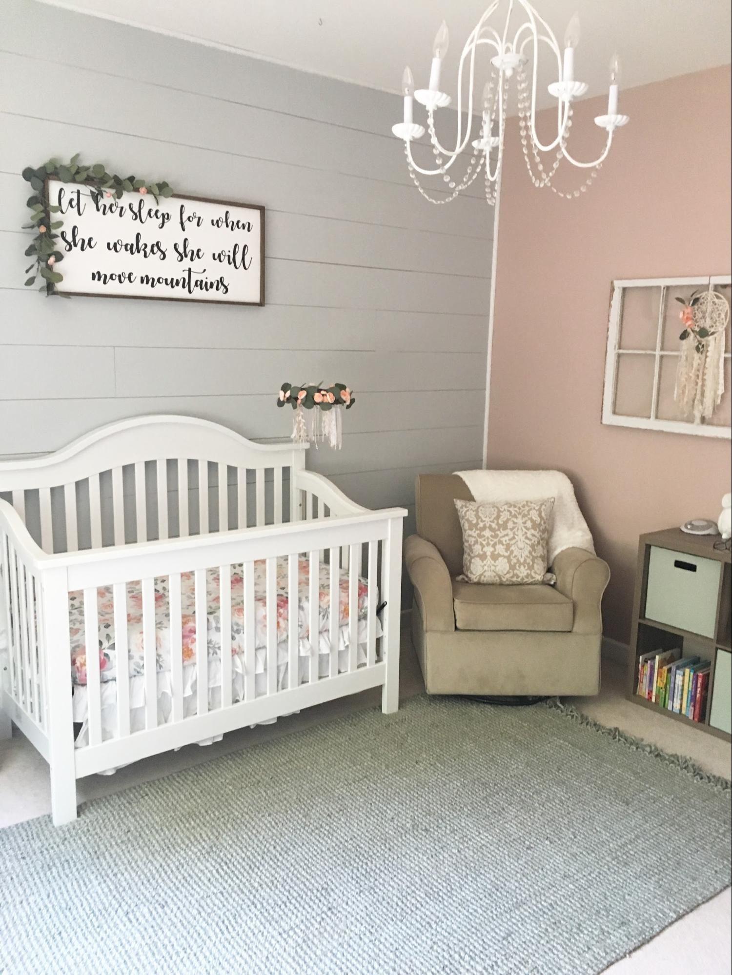 Harper's Floral Whimsy Nursery Girl room, Girl nursery