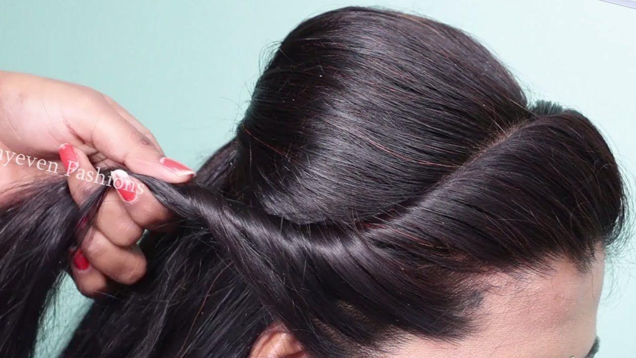 Easy & cute wedding hairstyle for girls  BRIDAL HAIRSTYLES  Hair
