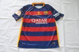 Football Shirt Barcelona Copa del Rey final Jersey  F342   89dd4f458