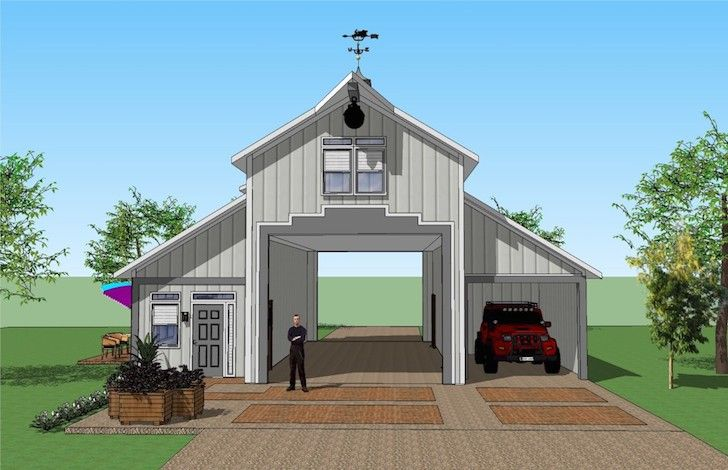 You Ll Love This Rv Port Home Design It S Simply Spectacular Carport Designs House House Design