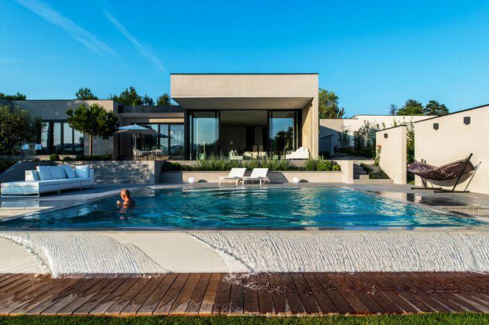 belle maison architecte moderne piscine My house designs
