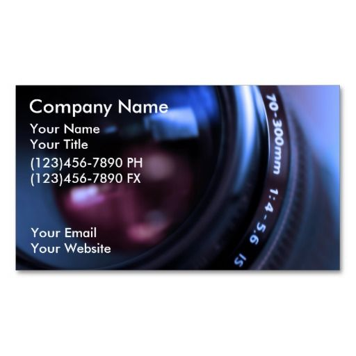Photography business cards custom business cards pinterest photography business cards accmission Gallery