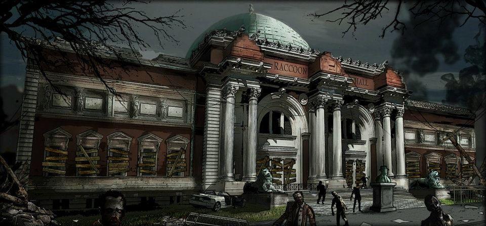 Raccoon City Google Da Ara Operation Raccoon City City Art Resident Evil