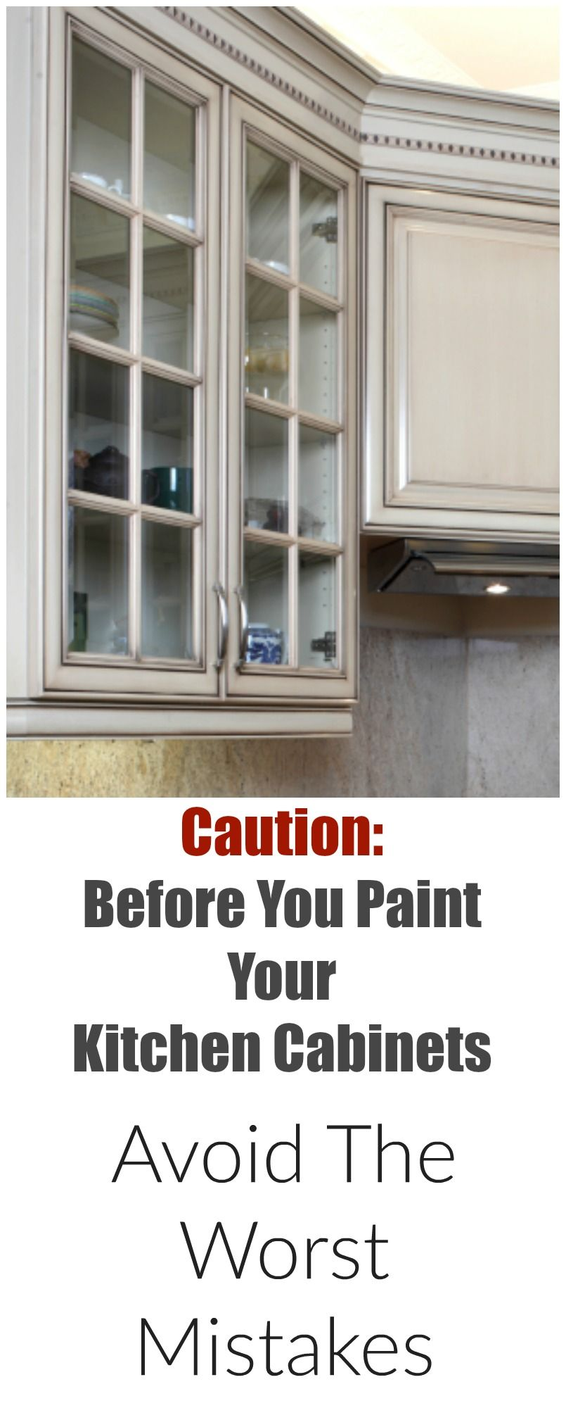 Ordinaire Mistakes People Make When Painting Kitchen Cabinets   Painted Furniture  Ideas