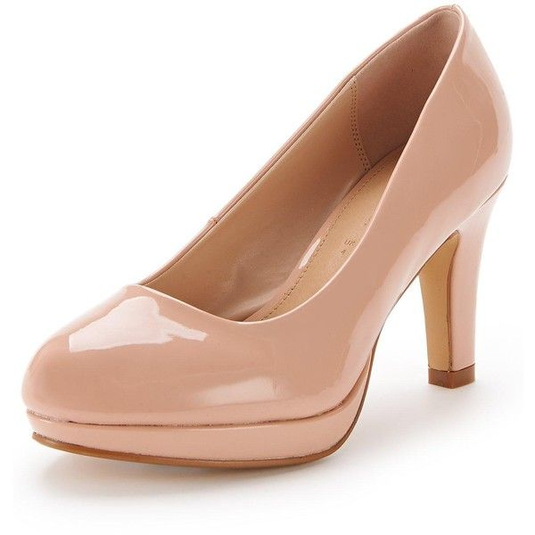 Platform Court Shoes