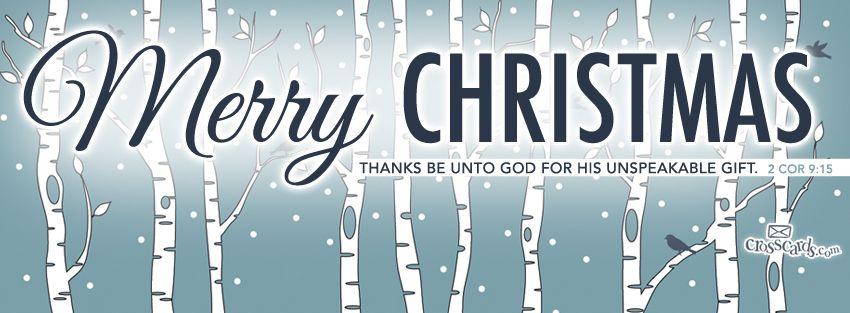 Download Merry Christmas 2 Cor 915 Christian Facebook