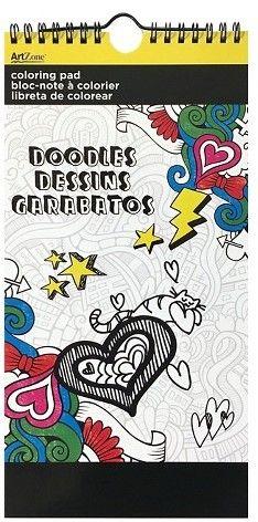 Trends International Adult Coloring Book - Doodles (affiliate ...