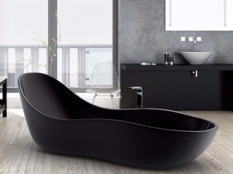 Vasca Da Bagno Wave : Vasca da bagno centro stanza in adamantx wave by zad italy design