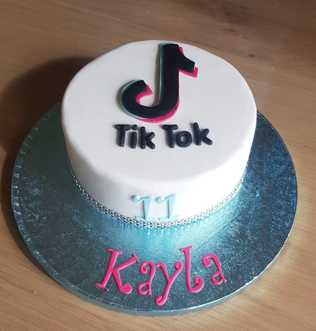 Tik Tok Birthday Cake Unique Birthday Cakes Special Birthday Cakes My Birthday Cake
