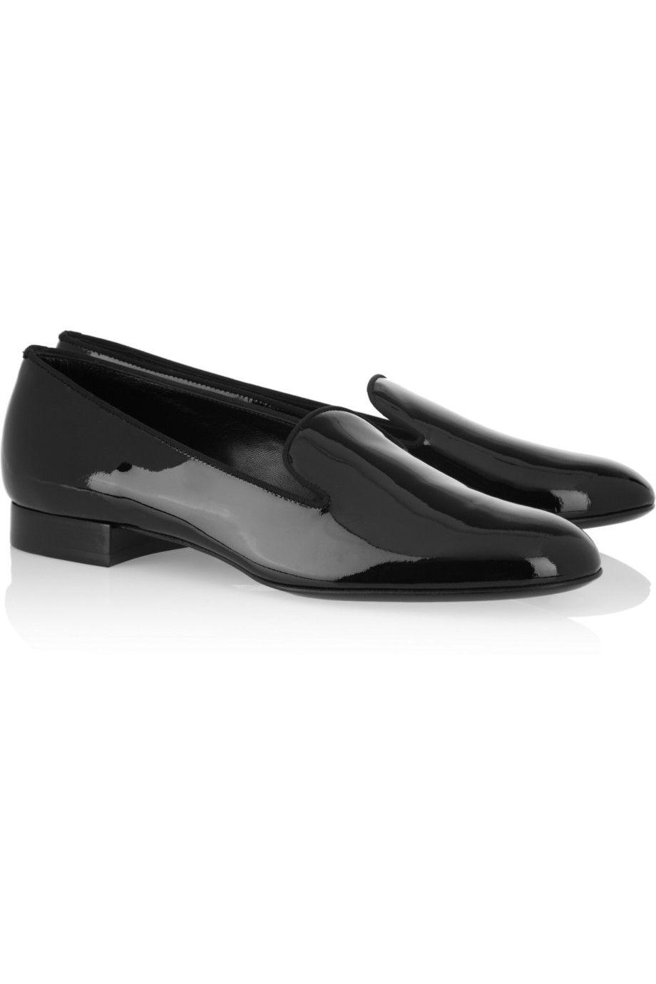 Saint Laurent | Patent-leather slippers