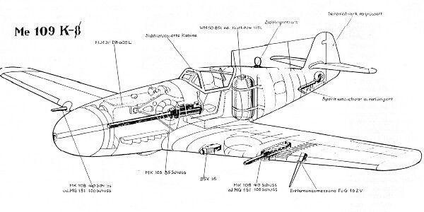 Me109 K