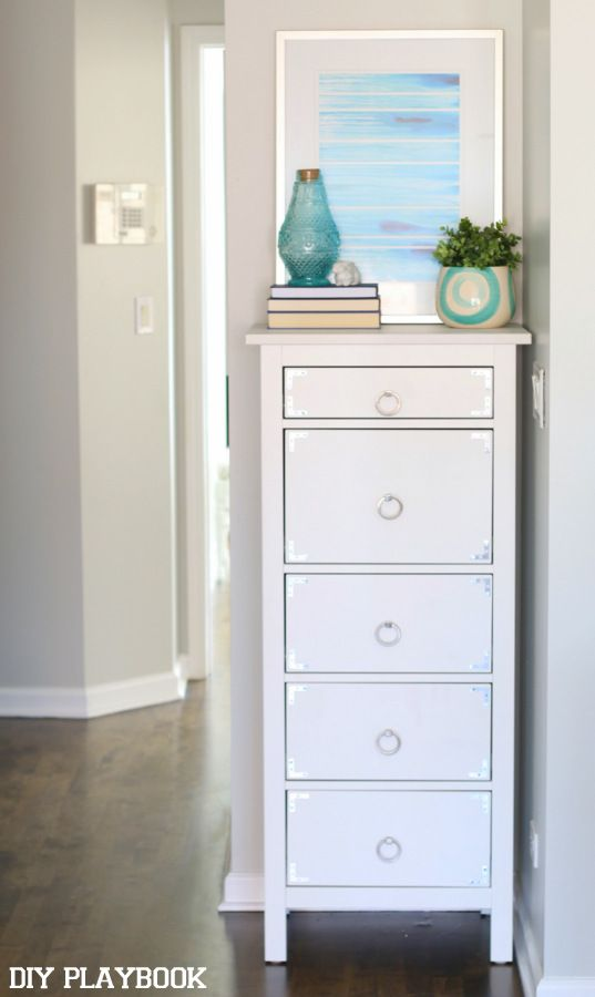 No Linen Closet In Your Home? Add A Tall And Slim Dresser For All Of