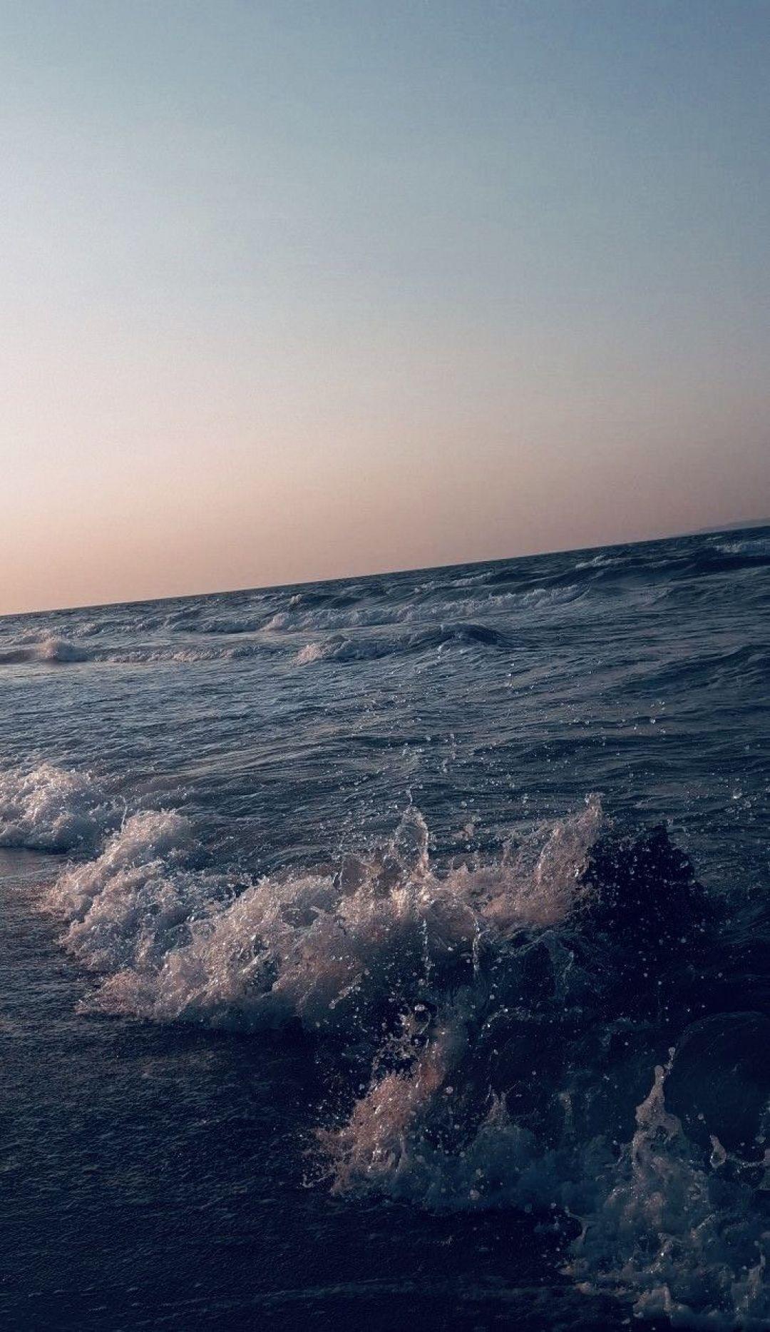 Ocean Android Iphone Desktop Hd Backgrounds Wallpapers 1080p 4k 118024 Hdwallpapers Androidwallpap Ocean Wallpaper Sky Aesthetic Nature Wallpaper