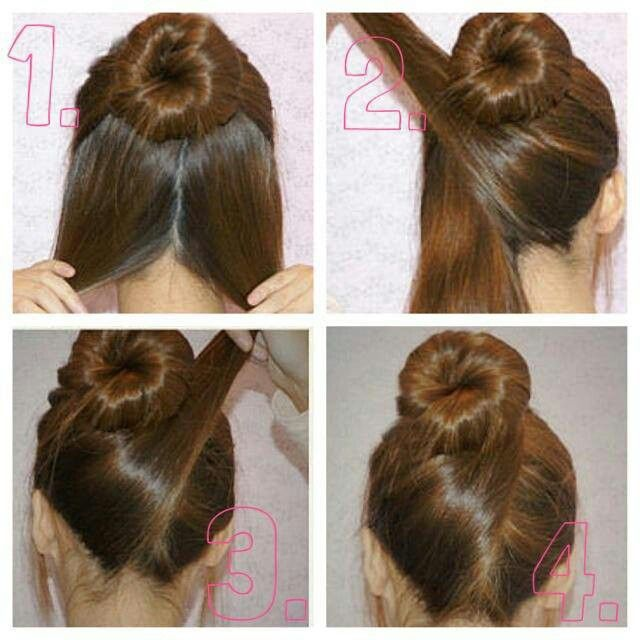 Wedding Juda Hairstyle Step By Step: Simple Yet Elegant.........I Want To Wear This Sooon