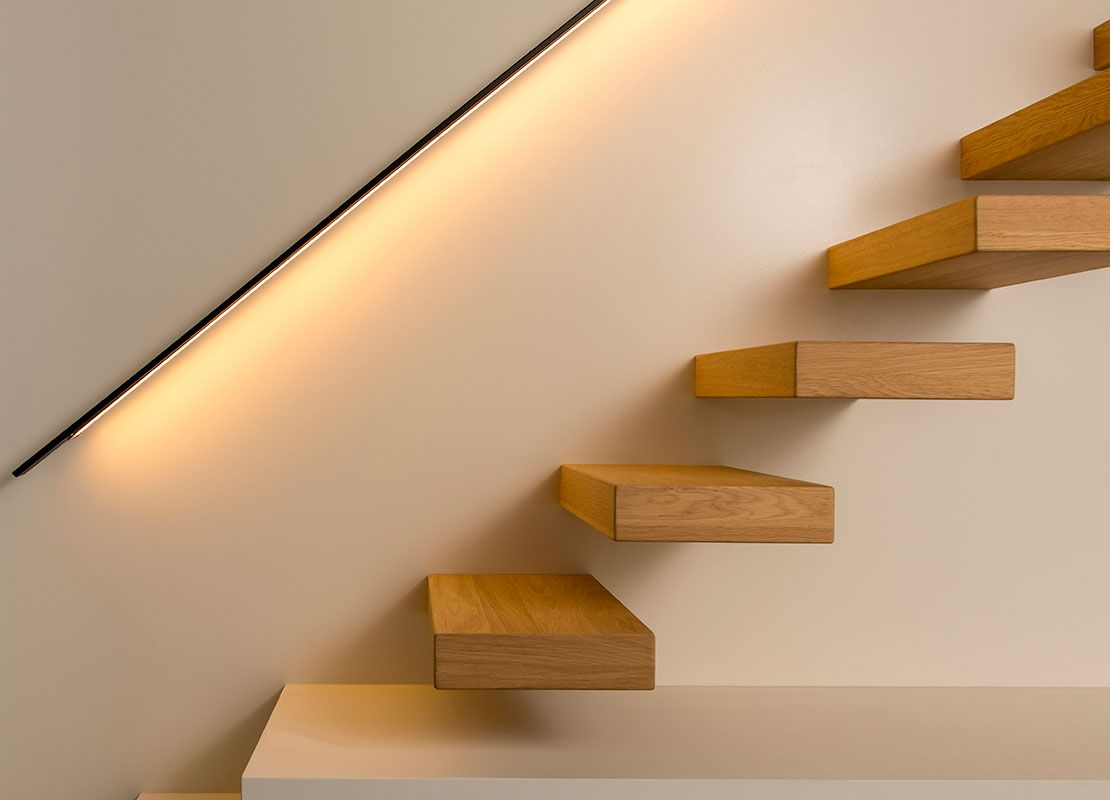 Led verlichting decotrap trappen in 2019 stair lighting stair