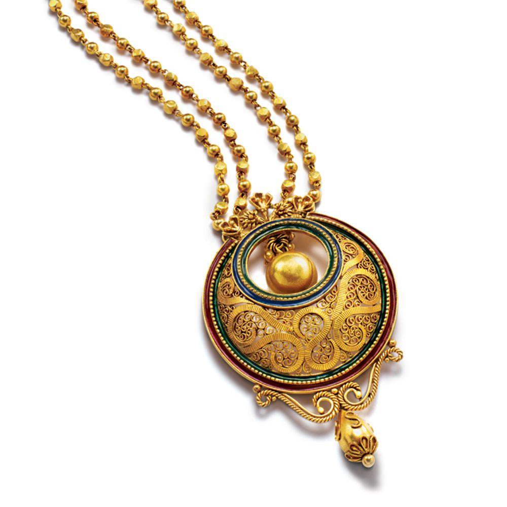 Gold pendant sets an azva p pinterest bridal jewelry