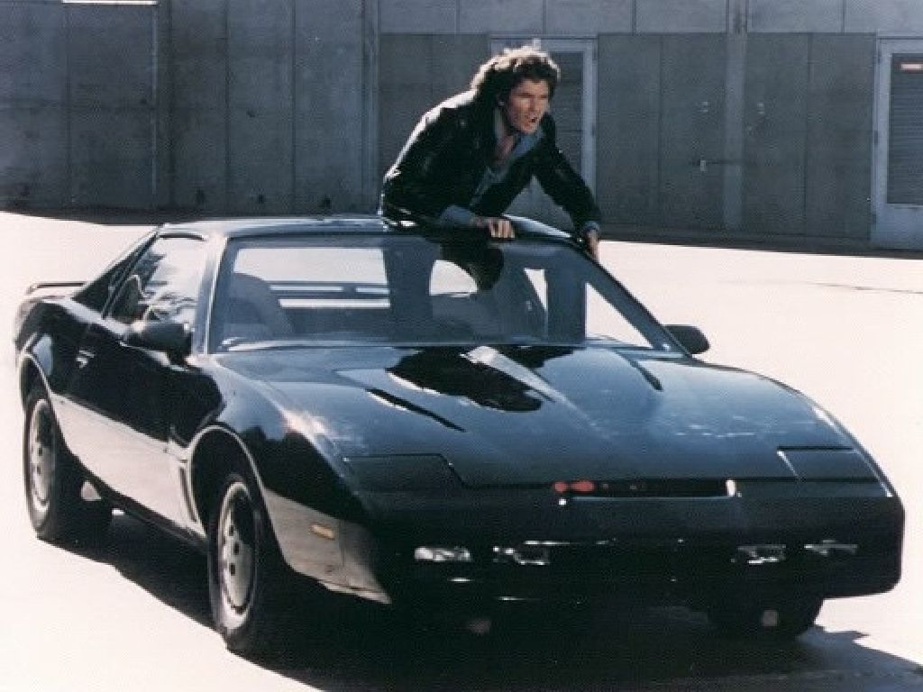 Knight rider 1982 pontiac trans am the knight industries two thousand kitt was a supercar that talked to david hasselhoff for four seasons between 1982