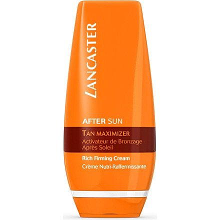 Lancaster Tan Maximizer Rich Firming Cream And After Sun Firming
