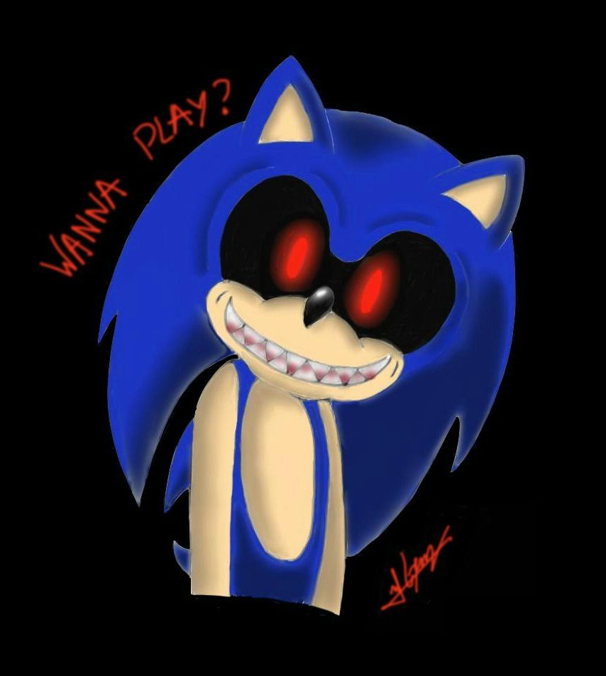 Sonic EXE  Me: not particularly | Creepy Pasta | Sonic fan