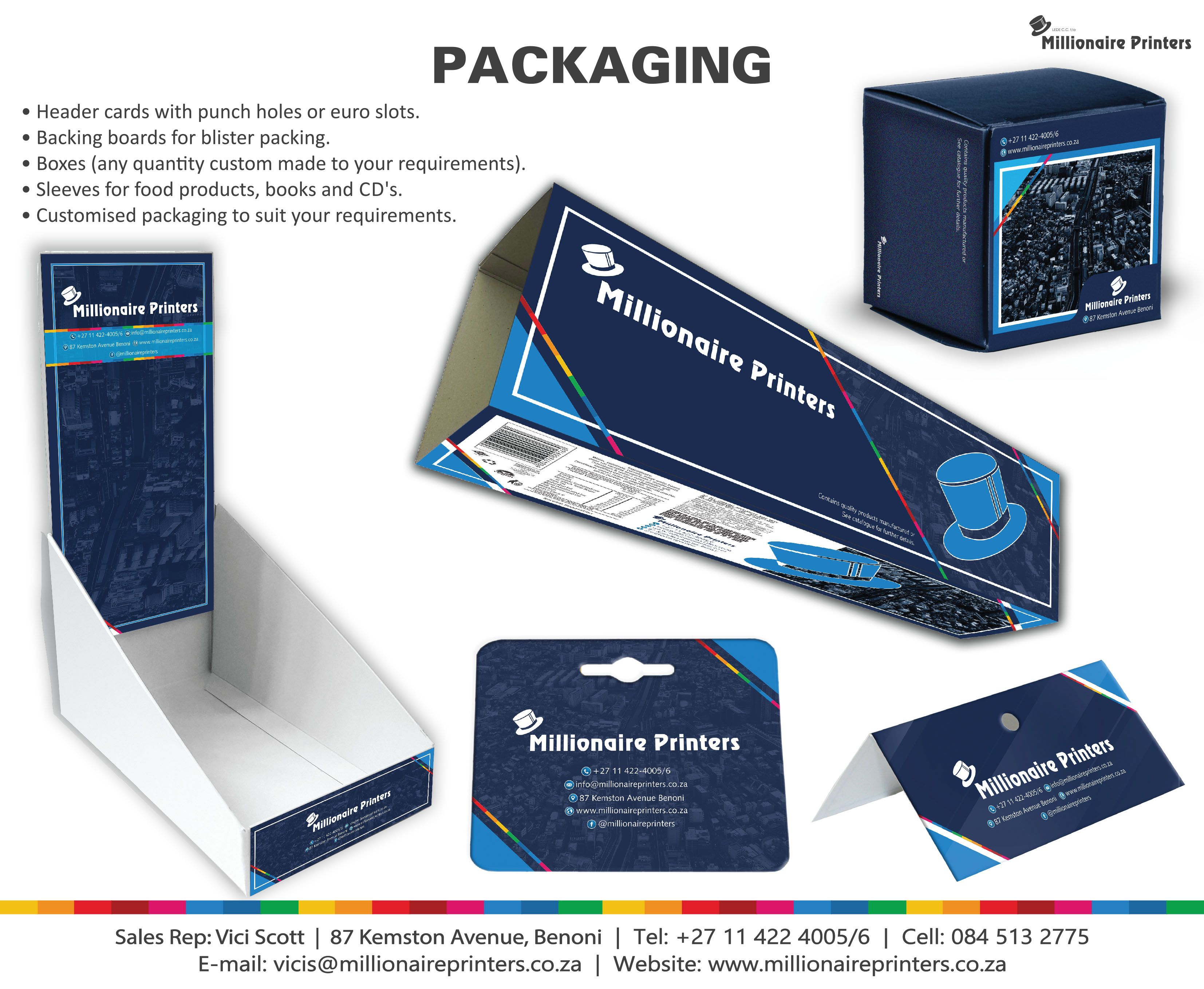 Various Packaging Options Available Header Cards With Punched Holes Or Euro Slots Backing Boards For Blister Packagi Blister Packaging Farm Marketing Cards