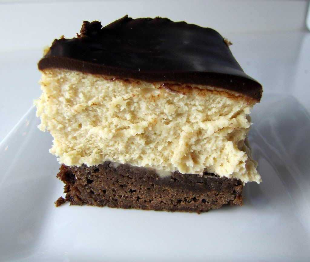 Zucchero Dolce - sweet sugar: Peanut Butter Cheesecake with a Brownie Crust