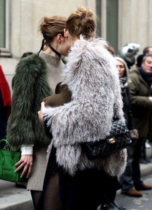 0098bafd0 Everyone's Wearing: Grey Fur | Closetful of Clothes | Fashion, Style ...