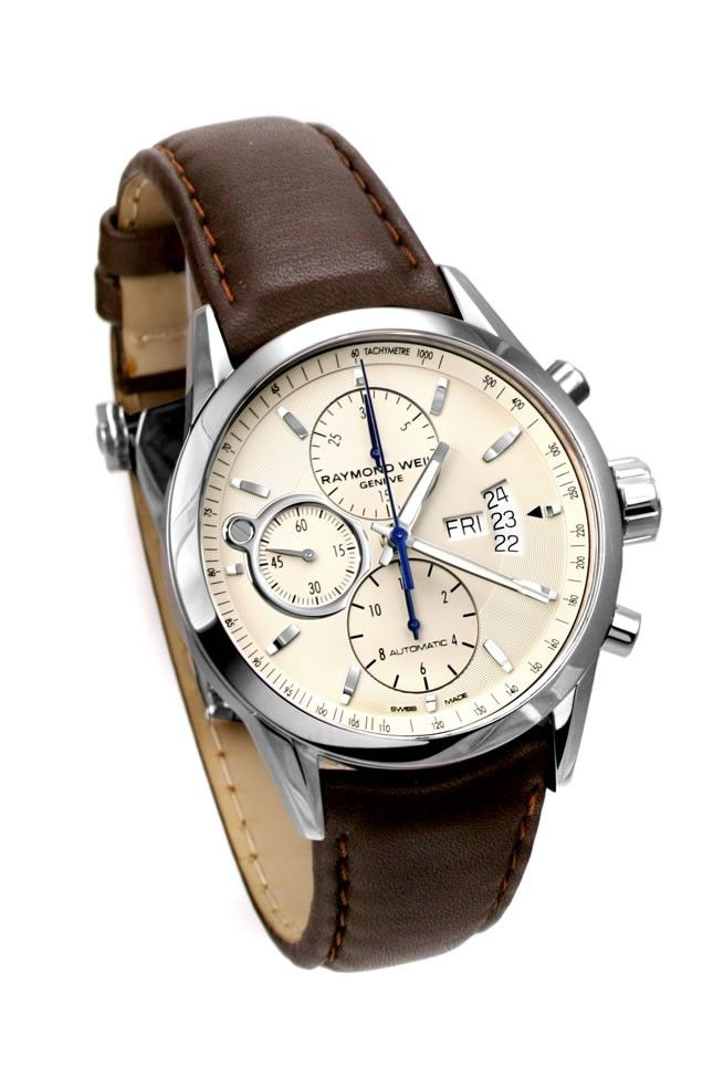e66abcea0 Raymond Weil 7730-STC-65021 Freelancer Chronograph Automatic Gents Watch