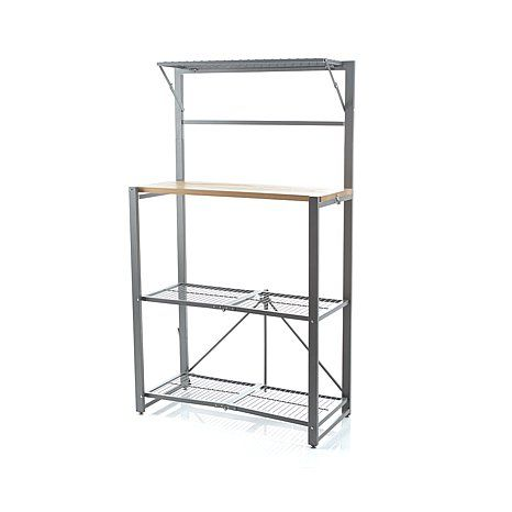 Shop Origami All Purpose Kitchen And Baker S Rack Read Customer