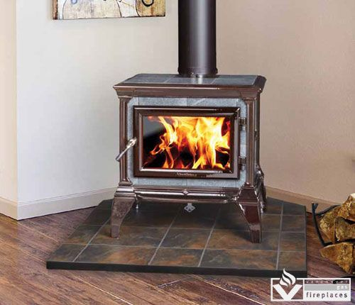 Castleton Wood Stove By Hearthstone From Vancouver Gas Fireplaces Free Standing Wood Stove Wood Heat Wood Fireplace