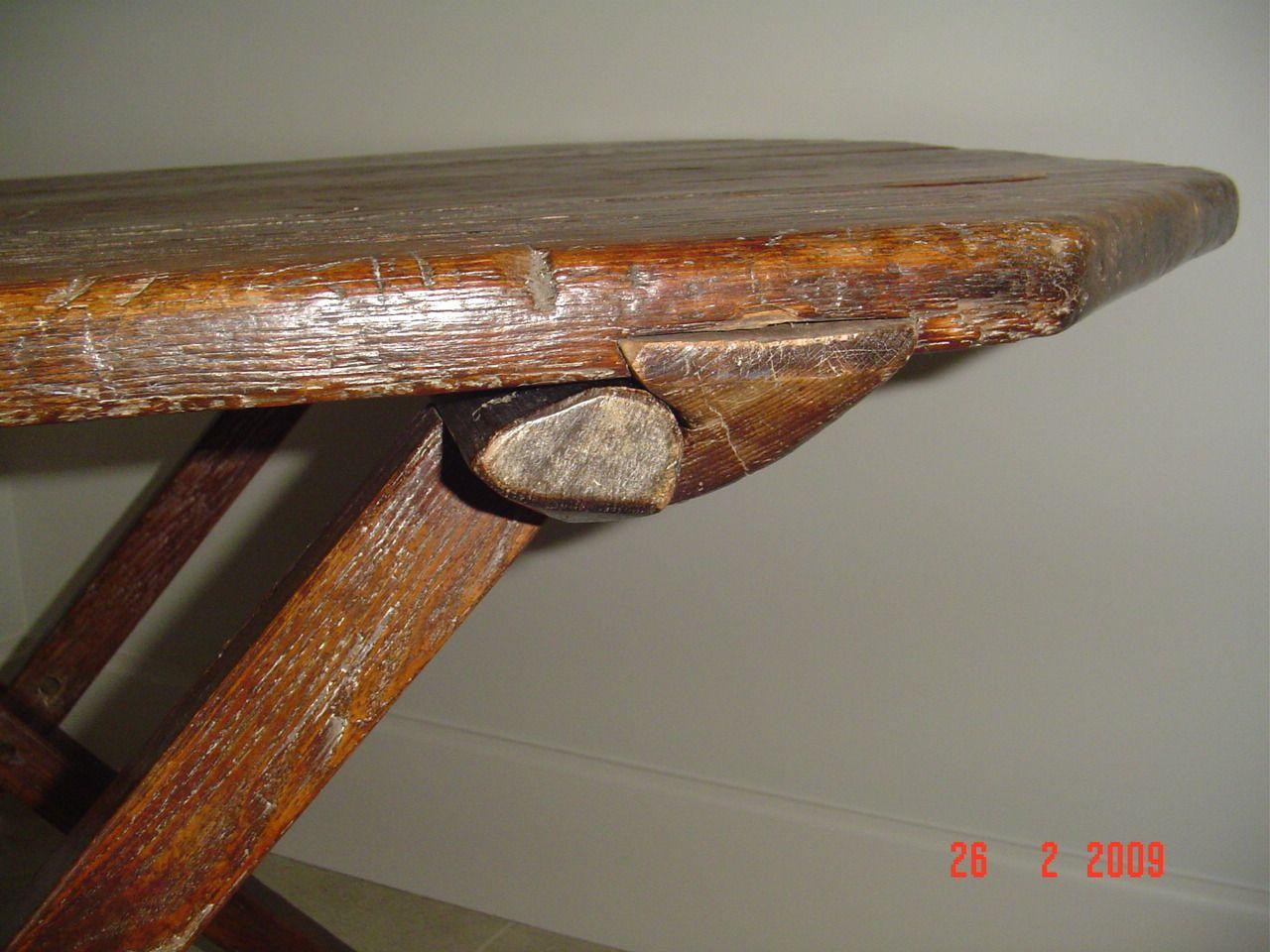 Antique Pine Furniture For Sale: Antique Primitive Trestle Table Canadian  Pine Wood Furniture - Antique Pine Furniture For Sale: Antique Primitive Trestle Table