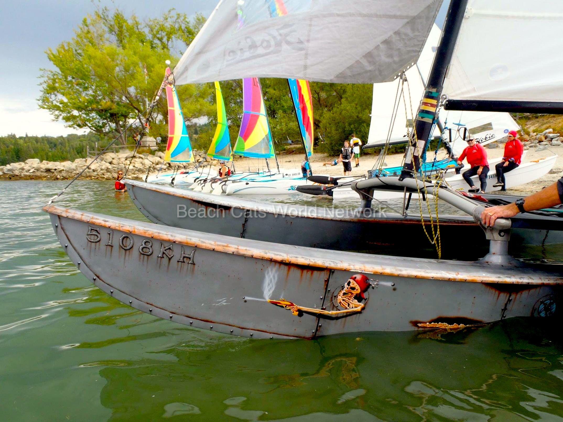 "Hobie 16 ""Action Stations"" Sailing lessons, Catamaran"