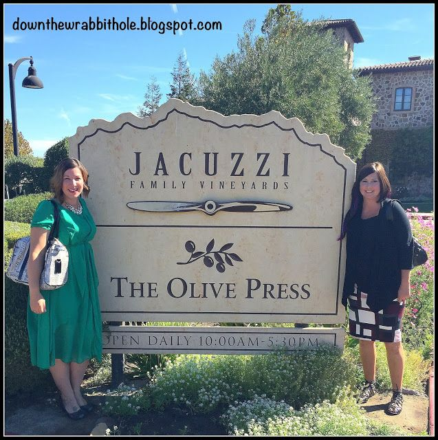 """Jacuzzi makes more than hot tubs - learn about their family owned vineyard in this post! Find out more at """"Down the Wrabbit Hole - The Travel Bucket List"""". Click the image for the blog post."""